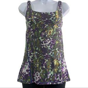 Lululemon Amala floral multi sport activewear tank